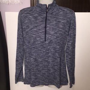 Columbia long sleeved blue top. Size Large.